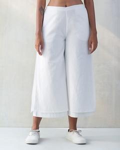 Marshmallow Pants - White on White