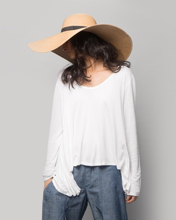 Ukiyo A-Line Top - White