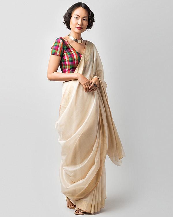 Cloud Cover Sari