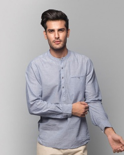 Pondicherry Stripe Shirt - Blue