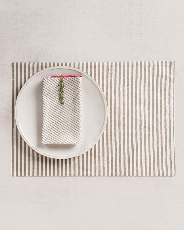 Stripes Placemat (Set of 2)