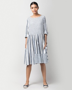 Rainy Season Stripe Dress
