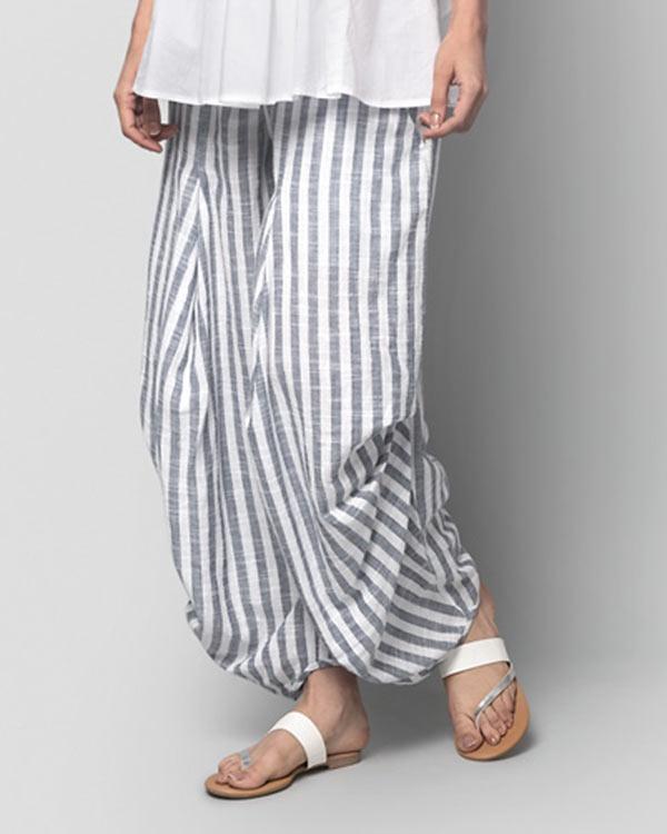 Weekend Stripe Trouser