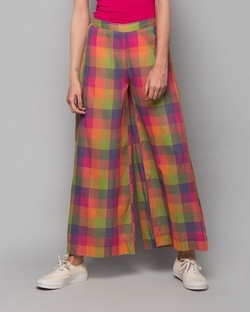 Cotton Trouser - Multi Checks