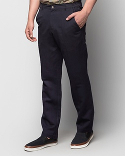 Relaxed Pants - Navy