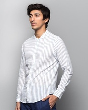 Nawab Coastal Stripe Shirt