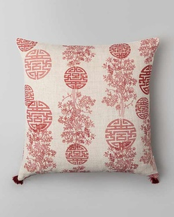 Jia Cushion - Red