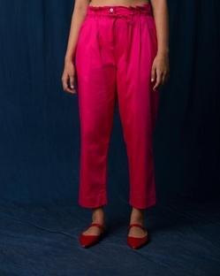 Dori Pants - Fuchsia & Pink