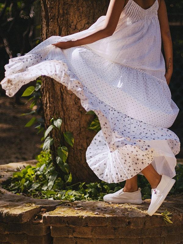 St. Bart Printed Sleeveless Jumpsuit