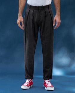 Box Pleat Trousers