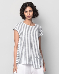 Girls Night Out Striped Top