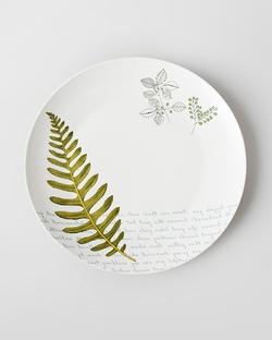 Flora Fauna Dinner Plate