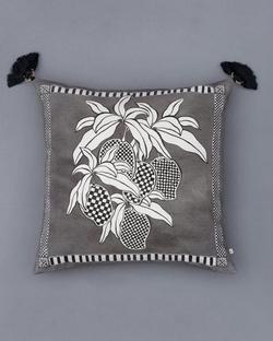 Aam Cushion - Charcoal