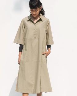 Youji Dress - Silver sage