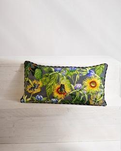 Orchid Telfairia Lumbar Cushion