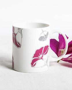 Frangi Flower Mug - Fuchsia