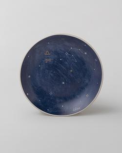 Luna Tea Plate - Libra