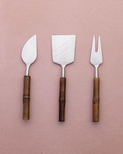 Anchor Cheese Knives (Set of 3)