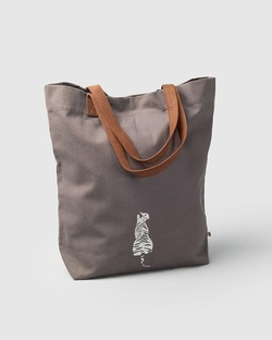 Mukayu City Tote - Charcoal