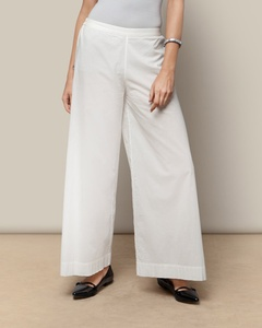 Cotton Trouser - Ivory