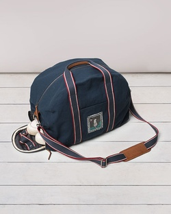 Mukayu Gym Bag - Indigo