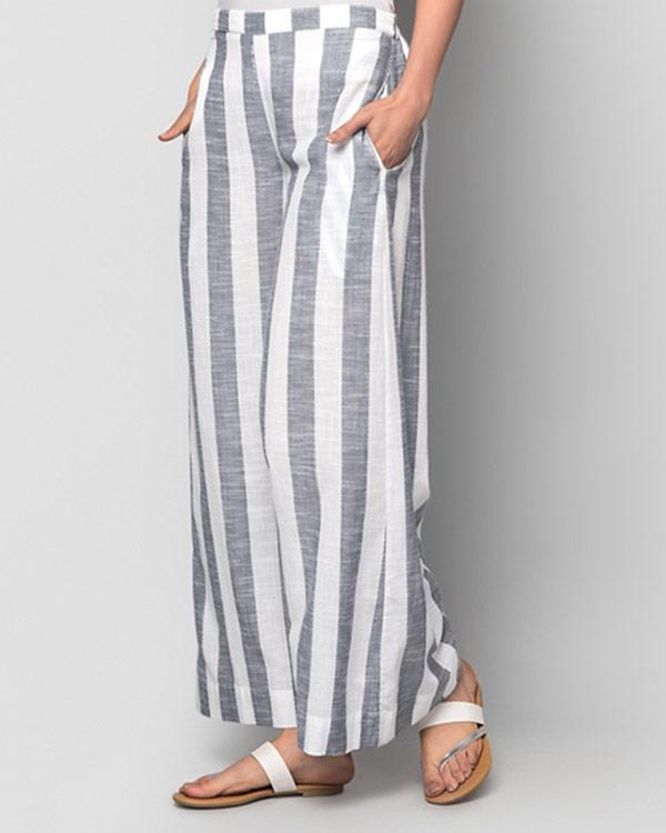 Hit Snooze Stripe Pyjamas