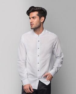 Nawab Stripe Shirt - Blue