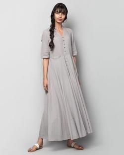 Akura Maxi Check Dress