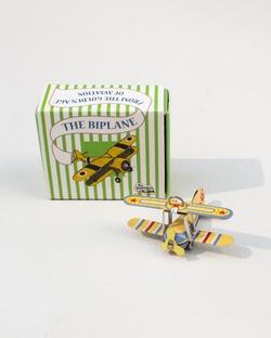 Tin Wright Plane
