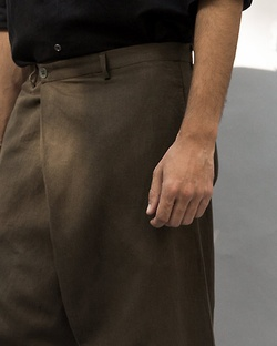 Slouchy Pants - Olive