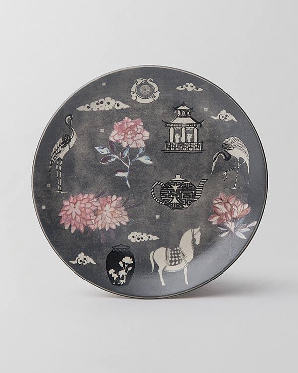 Indochine Quarter Plate