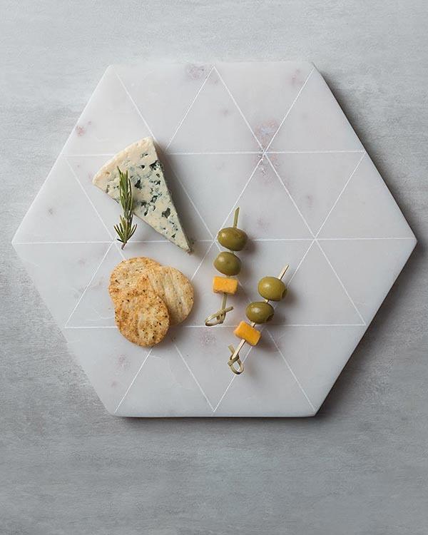 Hexa Cheese Board