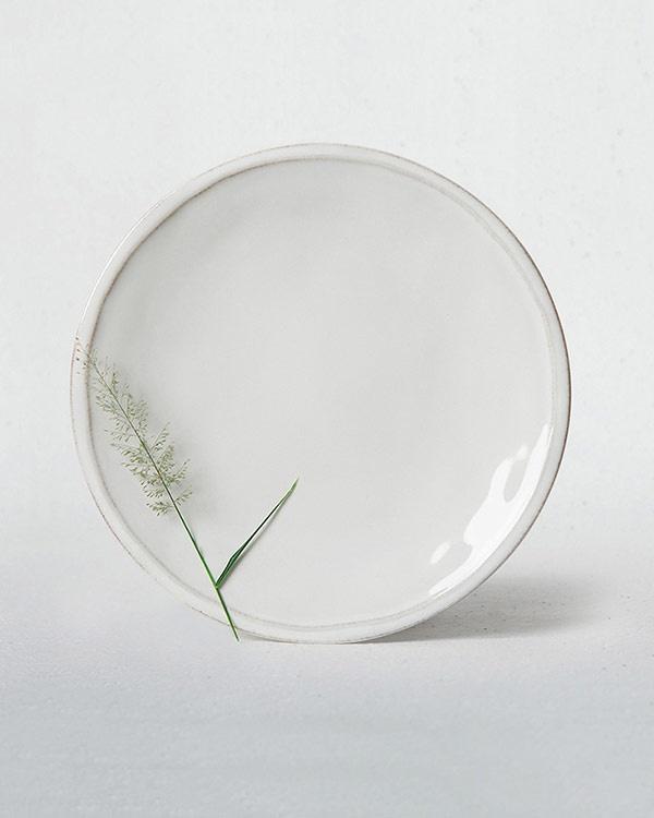 Aguada Dinner Plate - White