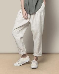 Overlap Trouser - Natural