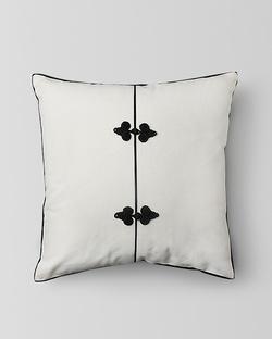 Chinese Knot Cushion - Ivory