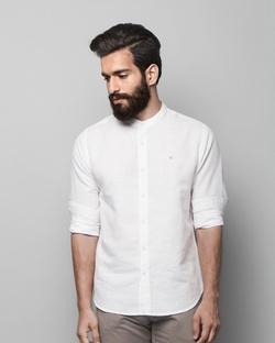 Nawab Shirt - White