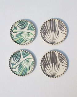 Palm Coasters (Set of 4)