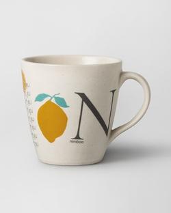 Alphabet N Mug - Stoneware