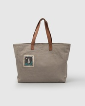 Mukayu Box Tote - Grey