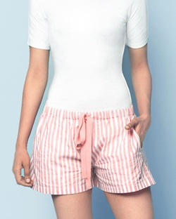 Lounge Stripe Shorts