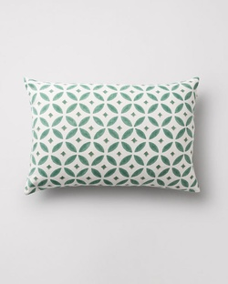 Hishigata Pillow - Jade