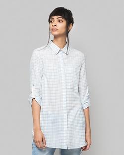 Michi Button-down Check Shirt