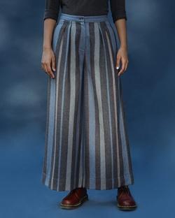 High Waist Stripe Pants