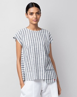 Girls Night Out Stripe Top