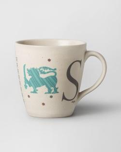 Alphabet S Mug - Stoneware