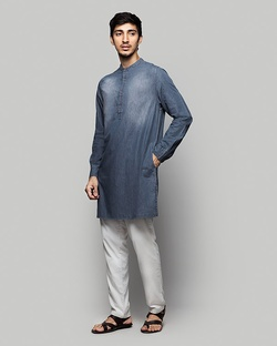 Chandni Chowk Denim Kurta