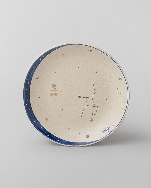 Luna Tea Plate - Virgo