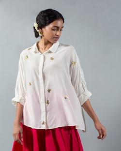 Square Shirt - Ivory