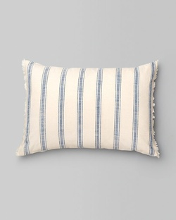 Massugu Stripe Pillow - Blue