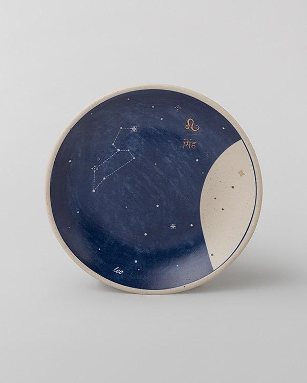 Luna Tea Plate - Leo